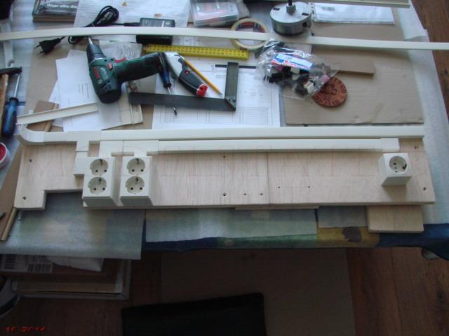 Modelbouw toon onderwerp project 016 een nieuwe werkplaats - Verfmodel voor de gang ...